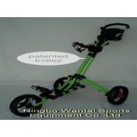 Golf aluminum onestep-folding trolley