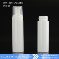 Buy cheap hotsale 120ml soap foam pump white bottle for cleanser, from wholesalers