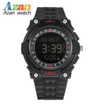 Buy cheap alarm lcd sport watch muslim azan compass  prayer  worship watch sport lcd watch from wholesalers