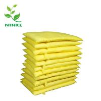 Buy cheap ISO 9000:2008 100% PP yellow industrial chemical haz-chem Spill Control Absorbent pillow from wholesalers