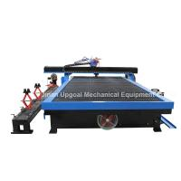 Buy cheap Large 1900*3000mm Plasma Cutting Drilling Machine with Rotary Axis for Tube from wholesalers