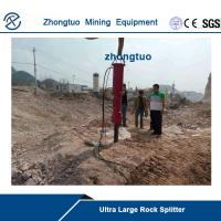 Buy cheap ZT series Ultra large rock splitter mounted truck|factory price|drilling depth2.1meters from wholesalers