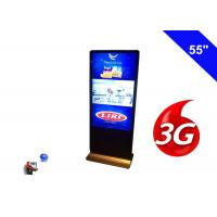 Buy cheap Floor Standing Wireless Network 3G Digital Signage Indoor Display LCD 55 Inch from wholesalers