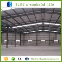 Buy cheap Steel storage building ready made warehouse sandwich panel garage from wholesalers