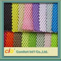 Buy cheap Multi color air mesh 3D 100% Polyester Mesh Fabric 200-270gsm for upholstery bus seat product
