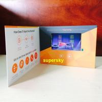 Buy cheap Bespoke Automtic Video Brochure Card For Chrimas Gift , 480*272 Pixel Size from wholesalers