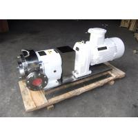 Buy cheap Sanitary Rotary Lobe Pump , Stainless Steel Pump Food Grade For Honey / Food from wholesalers