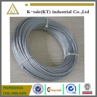 Buy cheap galvanized steel wire rope factory 6x7+fc from wholesalers