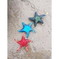 Buy cheap Blue Modern Sea Star Glass Craft For Decoration Custom Color LOGO Handblow from wholesalers