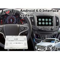 Buy cheap Android 6.0 Auto Navigation Interface for 2013-2016 Opel Insignia Intellilink System Google Map from wholesalers