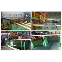 Buy cheap Hydraulic Copper Continuous Casting Machine Water Cooling For 300 mm Brass Pipes from wholesalers