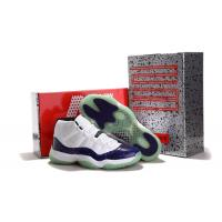 Buy cheap Michael Jordan 11 Concord Galaxy White Glow In The Dark men's sports shoes from wholesalers