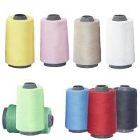 Buy cheap 100% polyester 40s/2 5000 yards cone sewing thread for jeans,shoes,and leather products from wholesalers