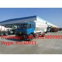 hot sale electronic auger discharging animal feed tank truck, best price farm-oriented feed transported truck for sale