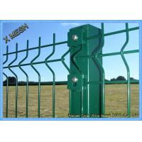 Buy cheap Powder Coated Wire Mesh Fence Panels , Perimeter Coated Welded Wire Fence Steel from wholesalers