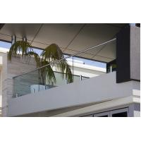 Buy cheap Modern Home Balcony Glass Railing Design Stainless Steel Mini Post product