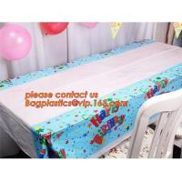 Buy cheap Creative Boys Girls Birthday Party Tablecloth Plastic Disposable Outdoor Kids Supplies Accessories, happy birthday party from wholesalers