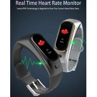 Buy cheap 2019 New H109 Smart Bracelet Headset Call Heart Rate Blood Pressure Oxygen Monitoring Sports Calorie smartwatch from wholesalers