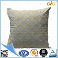 Buy cheap Fashion Cotton Embroidery Decorative Pillow Cover / Sofa Throw Pillows from wholesalers