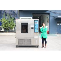 Buy cheap Programable Simulation High Low Temperature Humidity Control Climatic Environmental Test Chamber from wholesalers