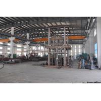 Buy cheap Save Space 13.5M Lifting Height 1000Kg Loading Capacity Guide Rail Elevator for Steel Structure Workshop from wholesalers