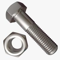 Buy cheap Zinc Coated Hex Head Bolt , Half Thread Heavy Hex Structural Bolt M6-M24 from wholesalers