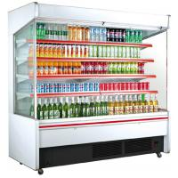 Buy cheap Supermarket beverage air curtain cooler showcase from wholesalers