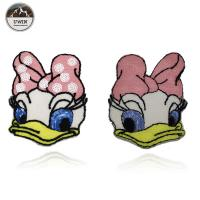 Buy cheap Fashionable Duck Custom Chenille Patches / Disney Character Patches Sew On Style from wholesalers