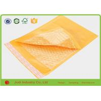 Buy cheap Yellow Padded Mailing Envelopes , Shockproof Anti Pressure Bubble Courier Packaging Bags from wholesalers