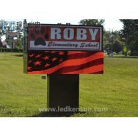 Buy cheap Red Color High Brightness LED Display RGB 2500nits 1280 X 960mm from wholesalers