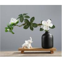 Buy cheap Wholesale abstract small animal ceramic display porch TV cabinet decoration office desktop flower vase crafts from wholesalers