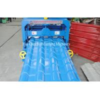 Buy cheap 5.5KW Hydraulic Arc Glazed Roof Tile Roll Forming Machine For Family Construction from wholesalers