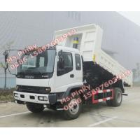 Buy cheap China Suppliers 10Tons ISUZU Dump Truck, 8M3 ISUZU Tipper Truck, ISUZU Dump Tipper Trucks for sales from wholesalers