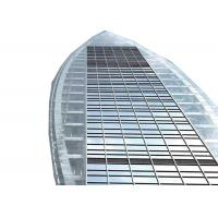Buy cheap Double Glazed Unitized Glass Curtain Custom Aluminium Windows Heat Insulation product
