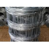 Buy cheap Galvanized Cattle Wire Fence / Knotted Wire Field Fence For Horse from wholesalers