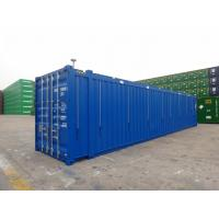 Buy cheap 45ft Hard Open Top Shipping Container Steel Cover Material Transportion Storage from wholesalers