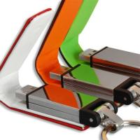Buy cheap Leather USB Flash Disk , Write Protected Usb Flash Drive from wholesalers