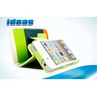 Buy cheap Flip Apple iPhone Leather Cases Stand Case / Wallet Cover For iPhone 5 Coolest from wholesalers
