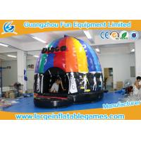 Buy cheap 4mH 5m Dia Musical Inflatable Bouncy Castle Inflatable Dome Disco Jumping Area with CE from wholesalers