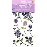 Buy cheap Professional Flower Design Color remove Glitter Temporary Tattoo for kids Body skin from wholesalers