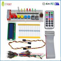 Buy cheap GPIO Starter Kit for Raspberry Pi T-Cobbler 1602 LCD RGB Leds DS18B20 IR Remote with 830 point Breadboard from wholesalers