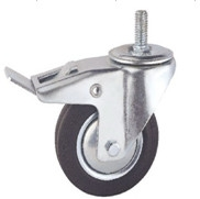 Buy cheap 5 inch roller ball bearing rubber casters from wholesalers