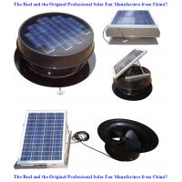 China USA solar attic fans on sale