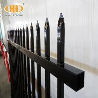 Buy cheap A.S.O factory selling used wrought iron door gates with 450g/mm steel spear top fence from wholesalers