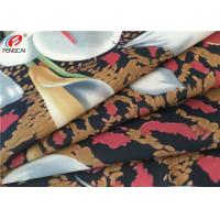 Buy cheap 4 Way Stretch Polyester Spandex Fabric , Elastic Printed Fabric For Bikini from wholesalers