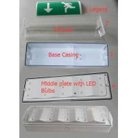 Buy cheap Battery Powered Waterproof Emergency Escape Lighting For Industrial , Wall Surface Mounted from wholesalers