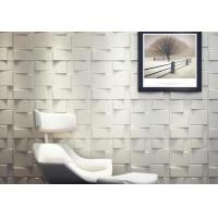 Buy cheap Green Square Wall Art 3D Wall Panels 3D Wall Board for Household Decoration Wall Coverings from wholesalers