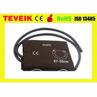 Buy cheap Medical Reusable PU NIBP Cuff , Hospital Measuring Blood Pressure Cuff With Doube Hose from wholesalers