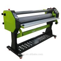 Buy cheap Automatic roll paper hot cold laminating machine 160cm laminator from wholesalers