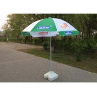 Digital Printed Outdoor Umbrellas Parasols Wind Resistant With 210D Oxford Fabric